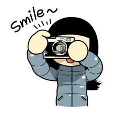 Smile Brush: Winter Edition Stickers 17