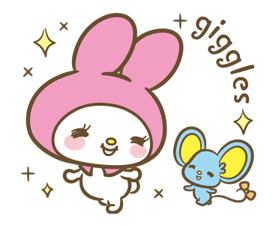 My Melody: Sweet as Can Be! Stickers 20