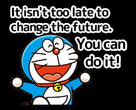 Doraemon ਦੀ ਕਹਾਵਤ ਸਟਿੱਕਰ 16