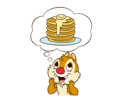 Chip 'n' Dale 2 Stickers 16