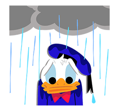 Donald Duck  Stickers 16