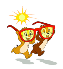 Chip 'n' Dale Summer Delight Stickers 16