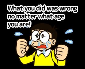 Doraemon ਦੀ ਕਹਾਵਤ ਸਟਿੱਕਰ 17