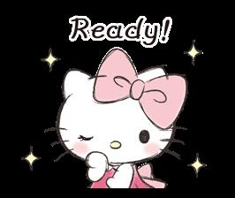 Hello Kitty Polite Stickers 17