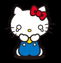 Hello Kitty 2 Stickers 17