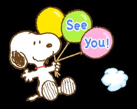 Super jarní Snoopy Nálepky 17