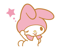 My Melody 2 Stickers 17