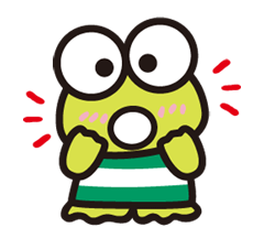 KEROKEROKEROPPI for Formal Occasions Stickers 18