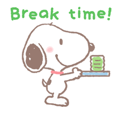 Lovely Snoopy Stickers 2 18