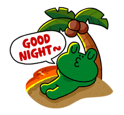LINE Characters - Happy Vacations Stickers 18