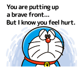 Doraemon ਦੀ ਕਹਾਵਤ ਸਟਿੱਕਰ 18