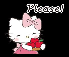 Hello Kitty Polite Stickers 18