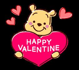 Winnie the Pooh Μπαλόνια Αυτοκόλλητα Ομιλία 18