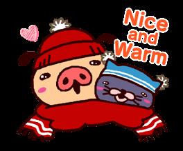 PANPAKA PANTS: Winter Dance Stickers 19