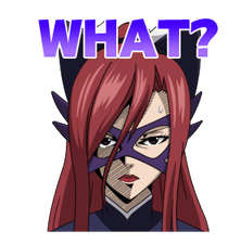 FAIRY TAIL Action Stickers! 19