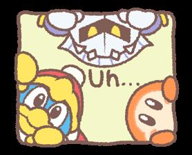 Kirby's Puffball Sticker Set 19