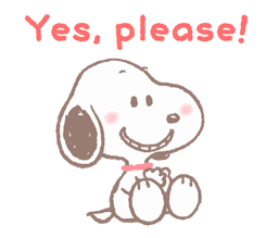 Lovely Snoopy Stickers 2 19