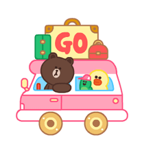 LINE Characters: Pastel Cuties Stickers 19