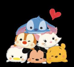 Disney Tsum Tsum Moves (Sakura Style) Stickers 19