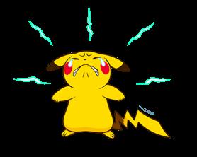 Pikachu สติ๊กเกอร์♪ 6