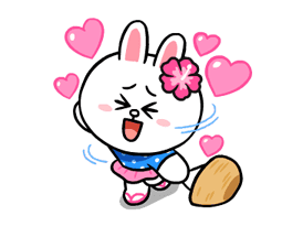 LINE Characters: Cute and Soft Summer Stickers 19