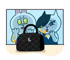Cony and Jessica: Girls Night Out Stickers 19