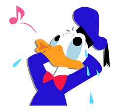 Donald Duck  Stickers 19