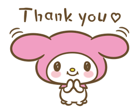 My Melody: Sweet as Can Be! Stickers 4