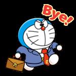 Doraemon på jobb Klistermärken 2