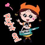 Chibi Maruko Chan: Rock 'n' Roll Autocollants 2