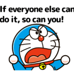 Doraemon's Adages Stickers 2