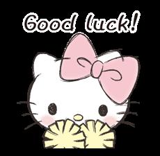 Hello Kitty Polite Stickers 2