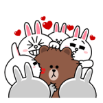Brown & Cony's Heaps of Hearts! Stickers 2