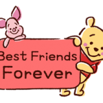 Winnie the Pooh Balloons Stickers Speech 2