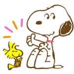 Super Spring Snoopy Stickers 2