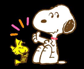 Super jarní Snoopy Nálepky 2