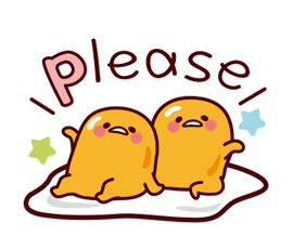 gudetama: Nice and Over Easy Stickers 2