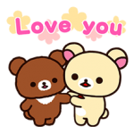 Rilakkuma: Chairoikoguma Stickers 2