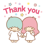 Little Twin Stars Sparkling Stickers 6