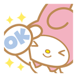 My Melody Stickers 1