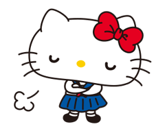 Hello Kitty: Simple and Sweet Stickres 20