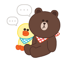 LINE Characters: Pastel Cuties Stickers 20