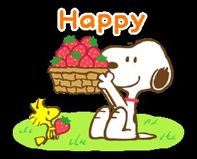 Super jarní Snoopy Nálepky 20