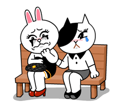 Cony and Jessica: Girls Night Out Stickers 20