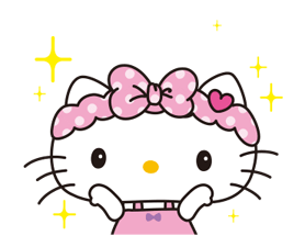 Hello Kitty: Simple and Sweet Stickres 21
