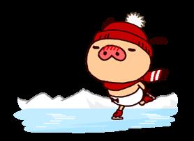 PANPAKA PANTS: Winter Dance Stickers 21