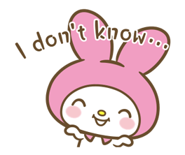 My Melody: Sweet as Can Be! Stickers 1
