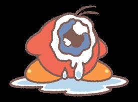 Kirby's Puffball Sticker Set 21