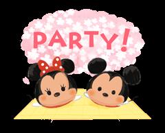 Disney Tsum Tsum Moves (Sakura Style) Stickers 21