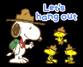Super jarní Snoopy Nálepky 21
